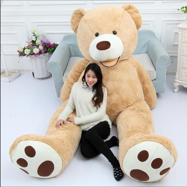130cm Giant Bear Hull American Bear Teddy Bear Skin Factory Price Soft