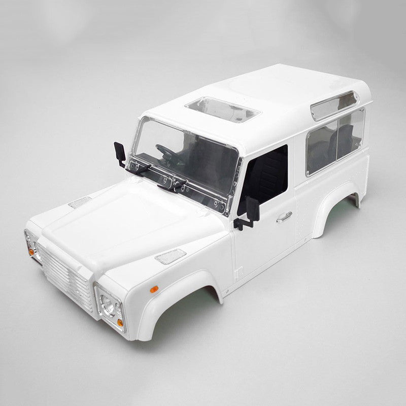High Quality RC Rock Crawler 1:10 Land Rover Defender D90 White Car