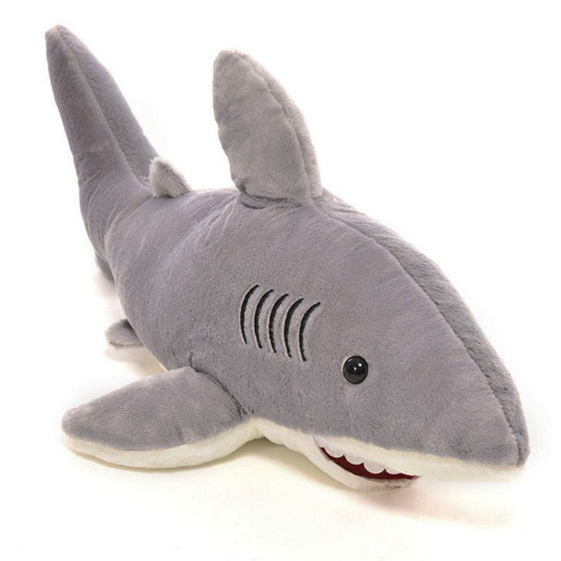 1 Pc Creative Stuffed Dolls Soft Plush Marine Animal Gray Shark