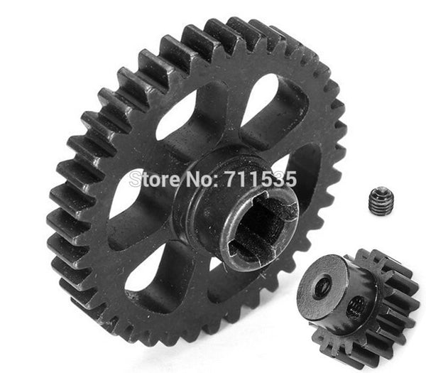 Upgrade Part Metal Reduction Gear + Motor Gear Spare Parts For Wltoys A949 A959 A969 A979 K929 RC Car