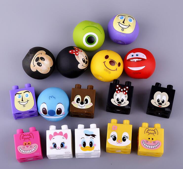 1pcs Novelty Fun  Doll Ball  noice maker  Squeeze Stress Reliever