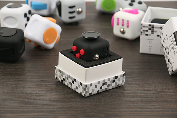 Original Fidget Cube Kickstarter Relieves Stress and Anxiety Puzzle