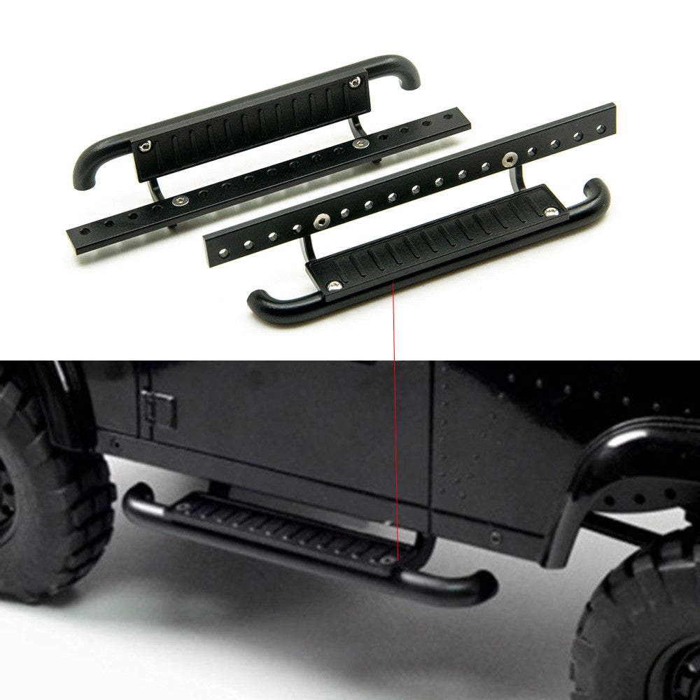 1Pair High Quality Metal Side Pedal Plate for 1:10 RC Rock Crawler