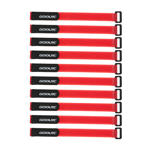10Pcs GoolRC Strong RC Battery Antiskid Straps Battery Bands 285mm for