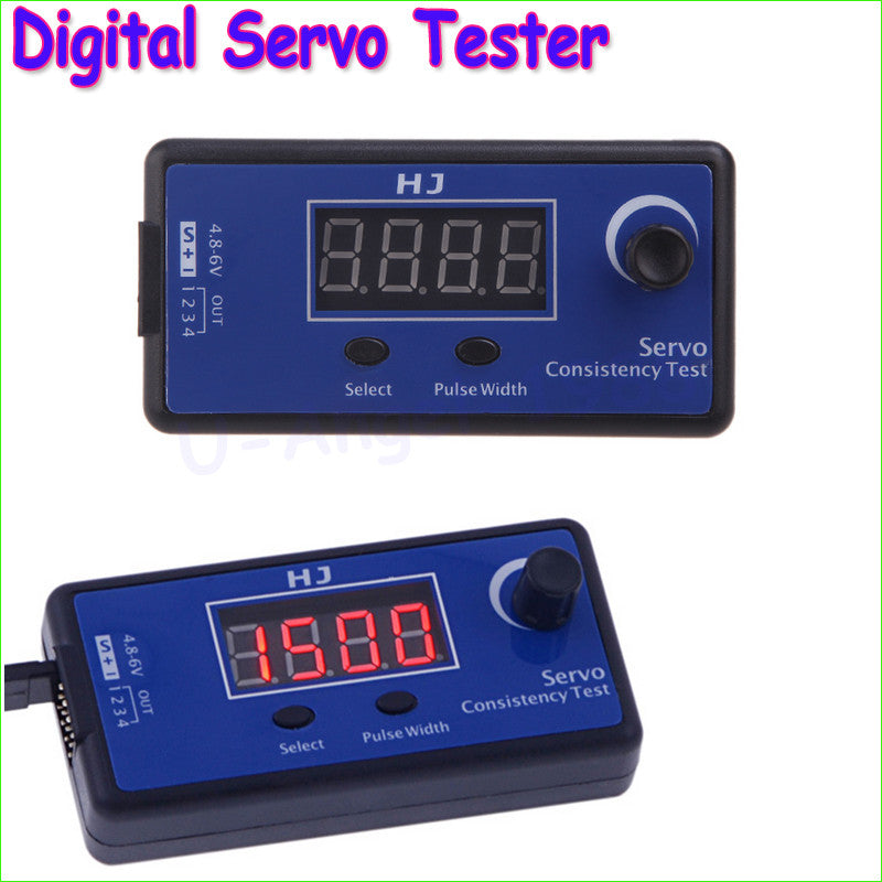 1pc HJ Digital Servo Tester / ESC Consistency Tester for RC Helicopter