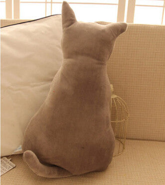 1pc 45cm Super cute soft plush back shadow cat plush toys seat sofa