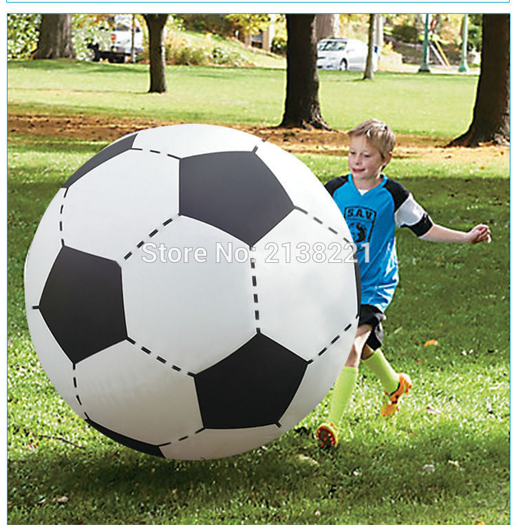 130cm Gigantic Inflatable Soccer Volleyball For Boys Children