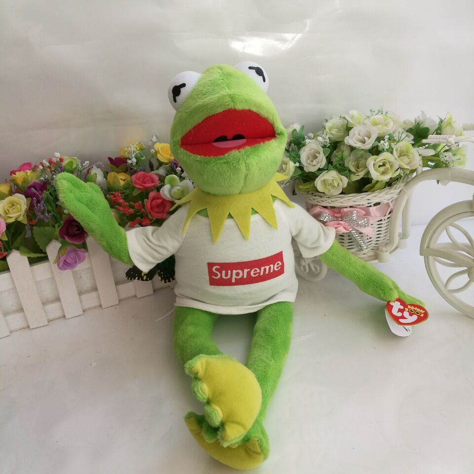 TY The Muppets Kermit The Frog Plush Toy USA b6d2687ac14