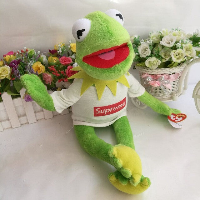 37cm Ty Toy Kermit the Frog Plush Toy The Muppet Show Sesame Street ... 75b6c8ac222