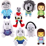 Undertale Sans Papyrus Asriel Toriel Temmie Undyne Stuffed Doll Plush Toy For Kids Christmas Gifts