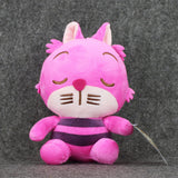 1pcs alice In Wonderland 2 Alice Cheshire Cat Mad Hatter March Hare Stuffed Plush Toy pendant with sucker free shipping