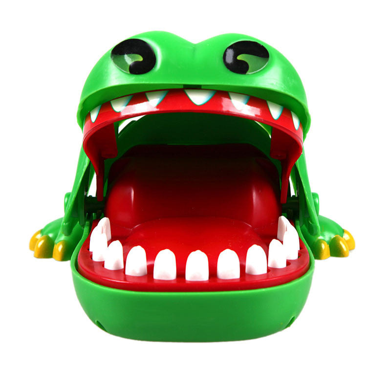 1Pc New Baby toys Baby Kids Large Crocodile Mouth Dentist Bite