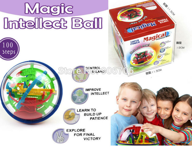 100 Steps 929A  Magical Maze Style Intellect Ball Educational