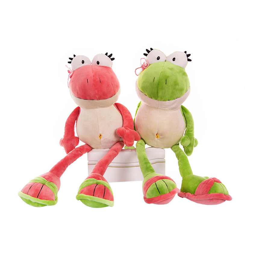 1pc 2016 New Nici The Frog Prince Cute Frog Plush Toy 35cm & 50cm