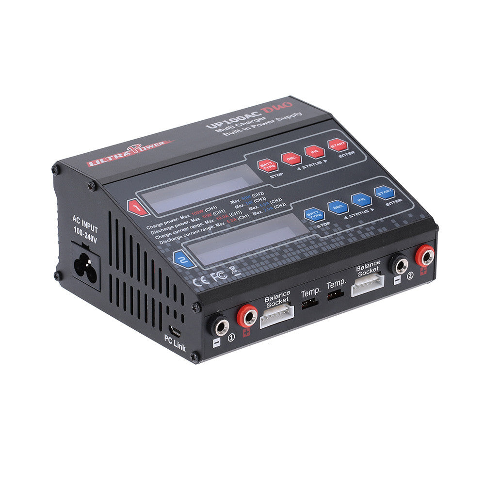 RC Power UP100AC DUO 100W Cyclic Charging/discharging
