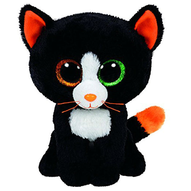 "Pyoopeo Ty Beanie Boos 6"" 15cm Frights Black Cat Plush Stuffed"