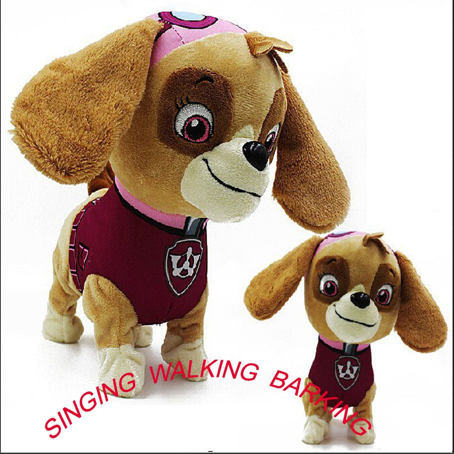 New Doll  Walking Barking Musical Robot Dog Electronic pet Toys Interactive Electric Pets Plush Toy Dog Christmas Gift For Kids
