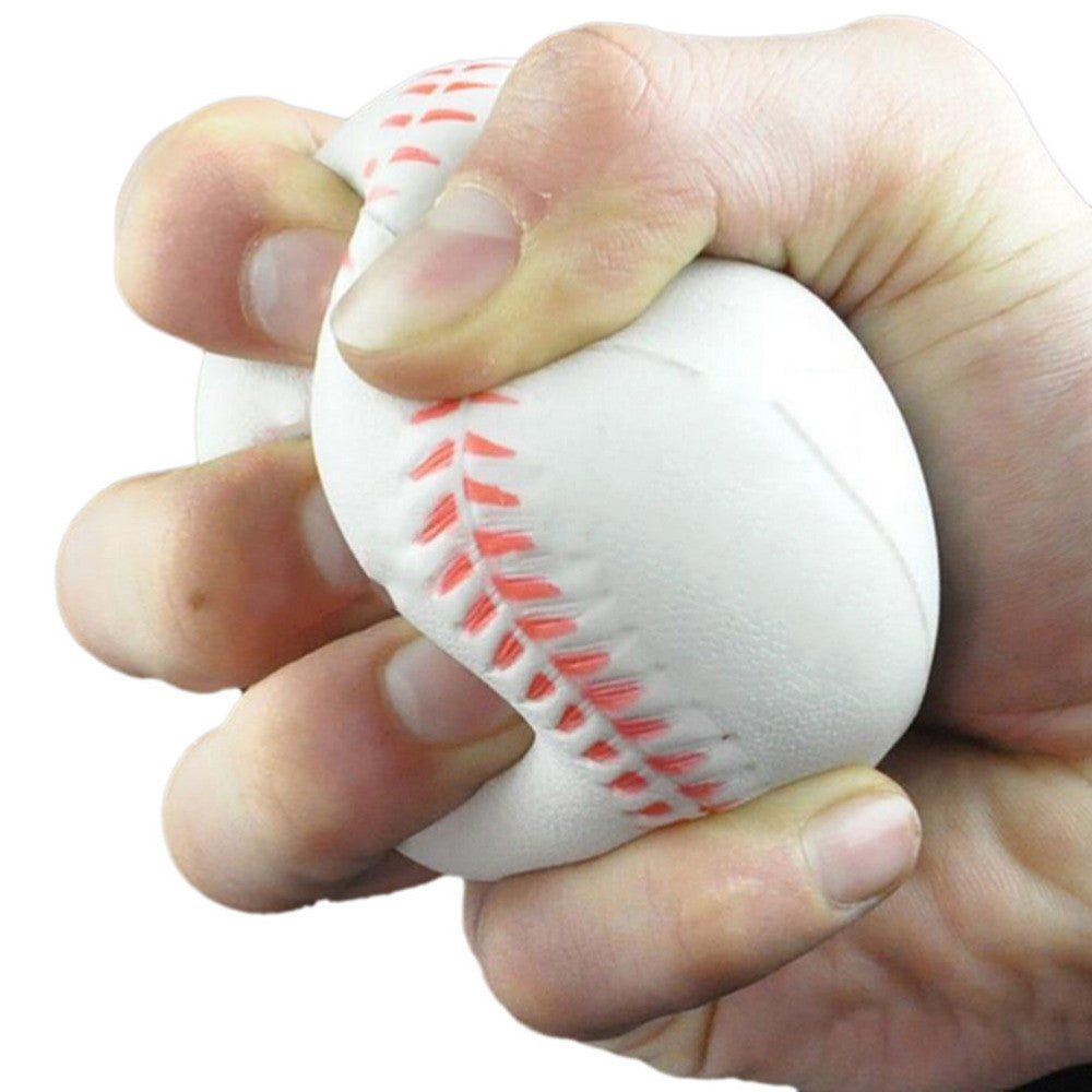 1Pc Baseball Shaped Baby Toy Hand Wrist Exercise Stress Relief Squeeze