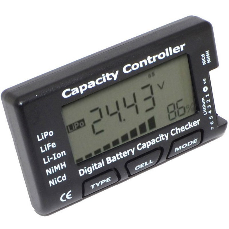 2-7S Lipo Life Li-on Digital Battery Capacity Checker Capacity