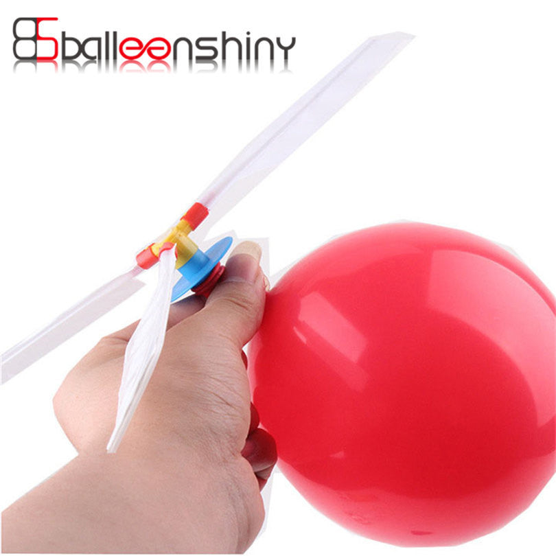 1pc Funny Balloon Helicopter Flying Outdoor Playing Early