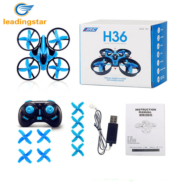 LeadingStar H36 RC Drone Mini Dron 2.4GHz 4CH 6 Axis Gyro RC