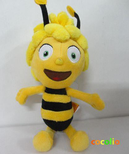 1PC Maya Bee Cute Plush Juguetes Kids Gift Mini Soft Toy, Bee 26cm