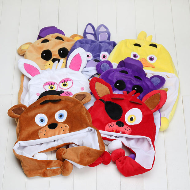 New FNAF Five Nights At Freddy's Plush Freddy Fazbear foxy Cartoon