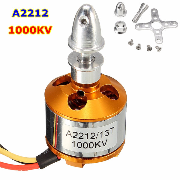 1000Kv A2212 Brushless Drone Outrunner Motor For Aircraft Helicopter
