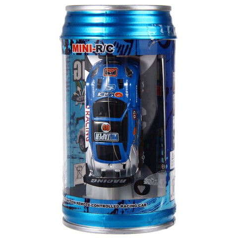 7 Colors Mini Car Coke Can RC Car Radio Remote Control Racing Truck Micro Toy Road Blocks Electric Kid Toys Gifts carrinho de