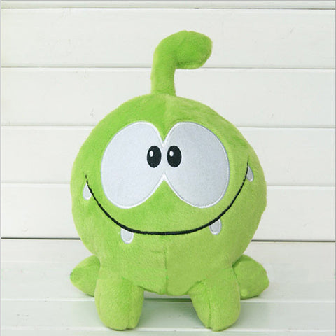 "kawaii 7""20cm om nom frog plush toys cut the rope Soft rubber cut the rope figure classic toys game lovely gift for kids"