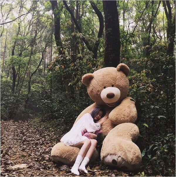 160cm The American Giant Bear Skin Animal High Quality kids Toys