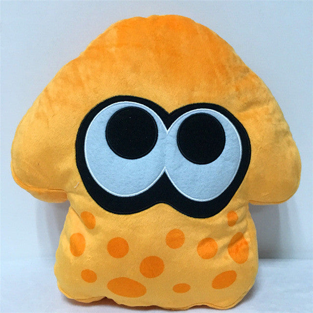 1PCS 35CM Splatoon Squid Soft Stuffed Plush Emoji  Pillows Toys
