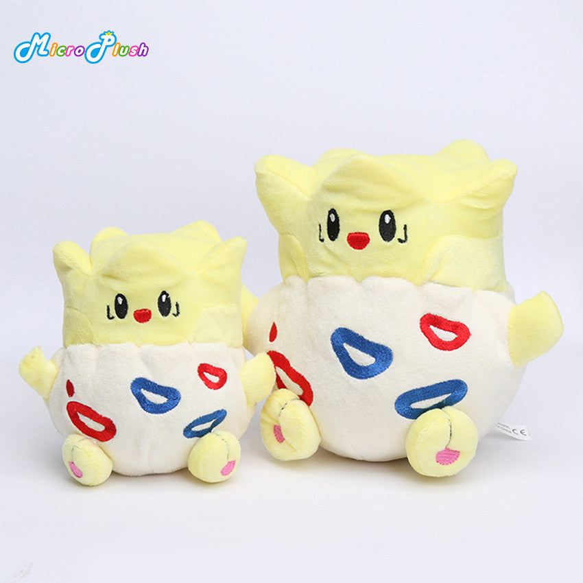 12cm/18cm Togepi Plush Toy Stuffed animal Doll Gift For Children eevee