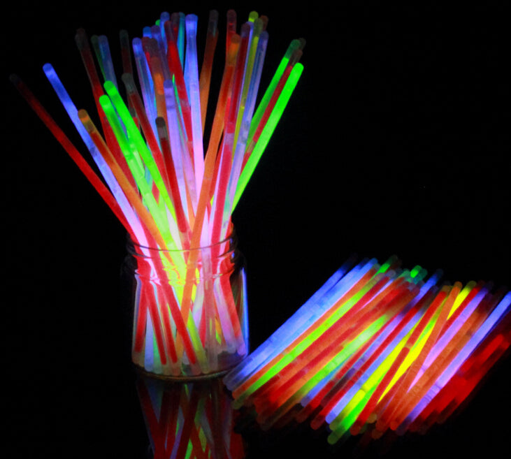 10PCS/LOTMix Glow Stick Creative Design Safe Glow Stick Light Necklace