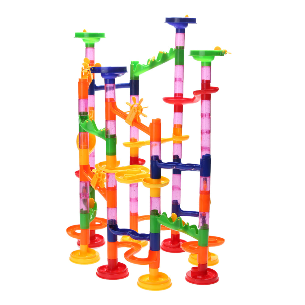 105pcs Water Pipe Building Puzzle Kids Ball Race Track Maze Puzzle