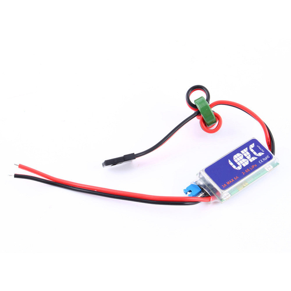 High Quality RC UBEC 3A Max 5A Lowest RF Noise BEC Full Shielding