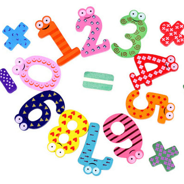 15pcs/set Montessori Baby Number Refrigerator Fridge Magnets Figure