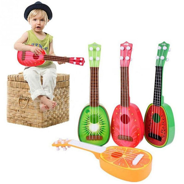 Newest Super Cute Children 4 String Fruit Style Guitar Ukulele Musical