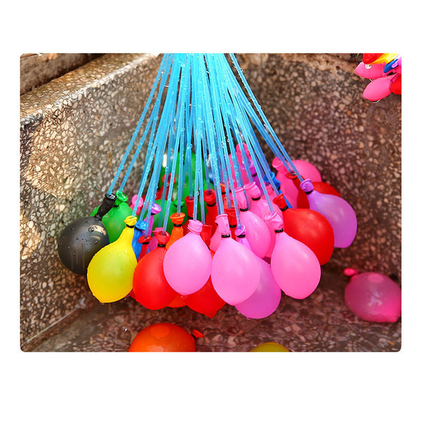 111pcs/Bag Outdoor Summer Game Toy Water Balloons Quick Bombs Swim Pool Balls Assorted Colors