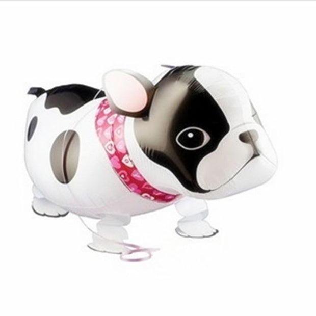 1pc Foil Cartoon Toy Bulldog Balloon Gifts For Kids Inflatable Air