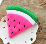Summer Fruits 10CM Approx. Plush Toy   , Pineapple Etc. Keychain Gift Plush Toy  Toys