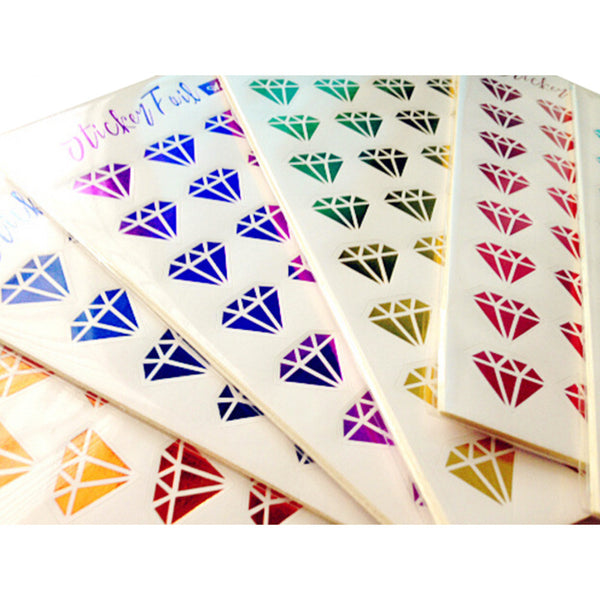 12 Sheets/pack Baby Kids DIY Bronzing Stamping Diamond Lips Phone Stickers on Laptop Notebook Decor Sticker Toys for Children