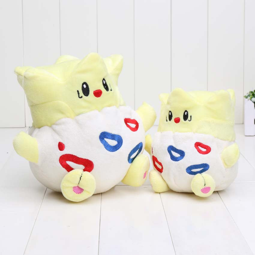 12cm / 20cm Pocket doll Plush Toy Togepi plush Cute Soft Stuffed