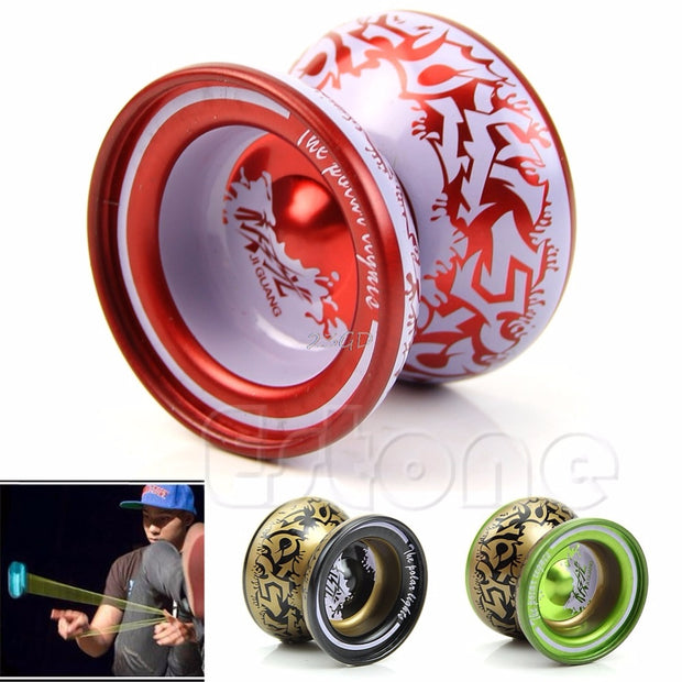 2017  Preety Aluminum Alloy Kids YoYo Ball Bearing String Children