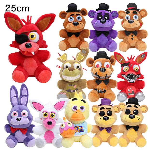 25cm fnaf plush toy Five Nights At Freddy's plush Golden Freddy
