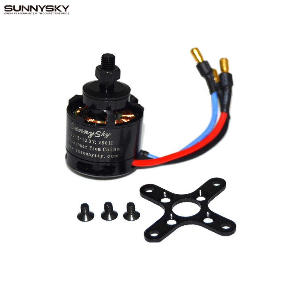 1pcs 100% Original SUNNYSKY X2212 980KV KV1400/1250/2450  Brushless