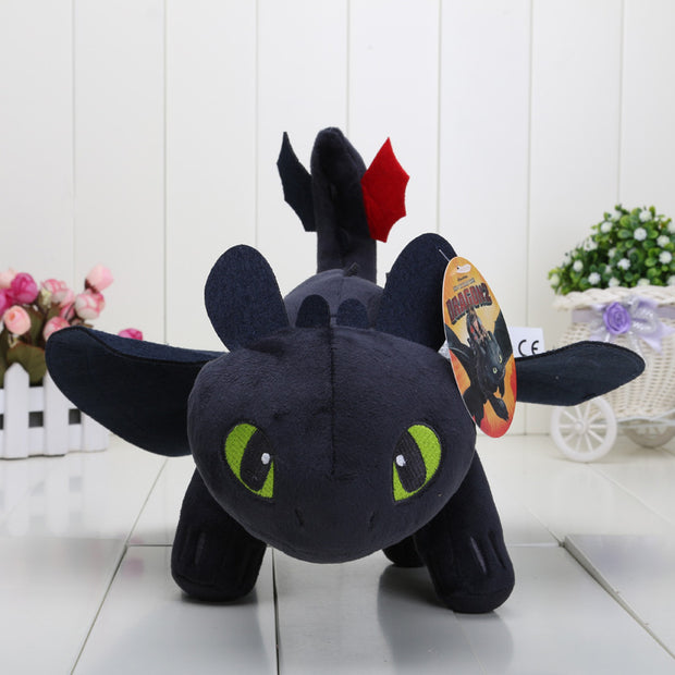 "13"" 33cm How to Train Your Dragon Toothless Night Fury Plush Toy"
