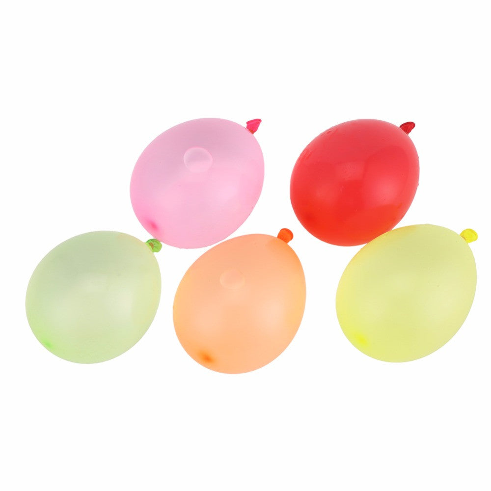 120pcs water balloons+120pcs rubbers Bunch Balloons Supplementary