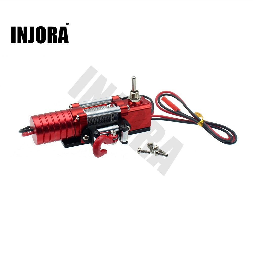 1:10 Metal Steel Wired Automatic Winch for RC Rock Crawler Axial SCX10
