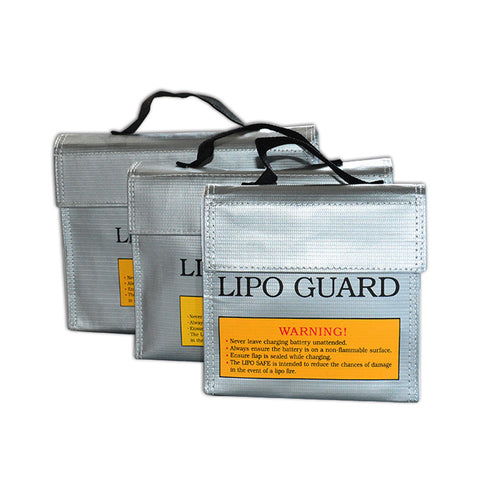 240*64*180MM LiPo Li-Po Battery Fireproof Safety Guard Safe Bag childred's toys learning tools
